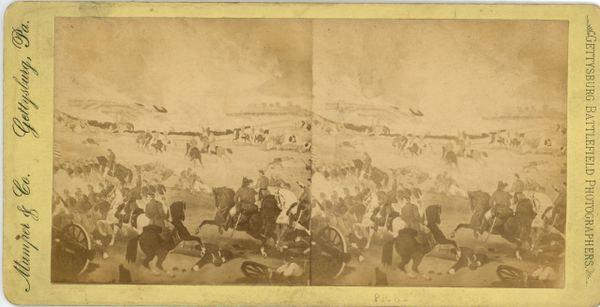 Mumper & Co. Stereo View Pickett's Charge