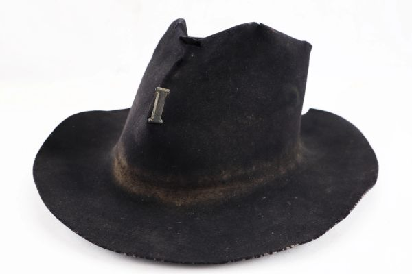 Identified Civil War Slouch Hat