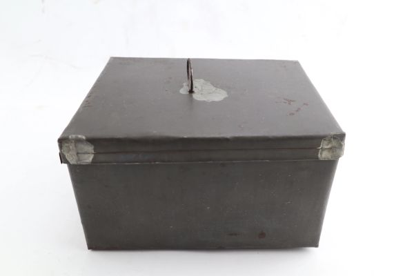 Civil War Tin Effects Box
