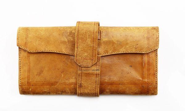 Civil War Leather Wallet