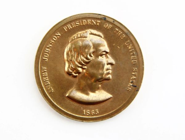 Johnson Peace Medal - 1865