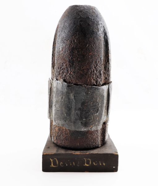 "Gettysburg Recovered Confederate Shell Hotchkiss Artillery Shell from ""Devil's Den"""