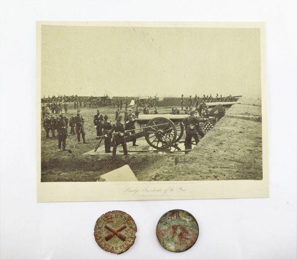 1st Connecticut Heavy Artillery Regimental Badge