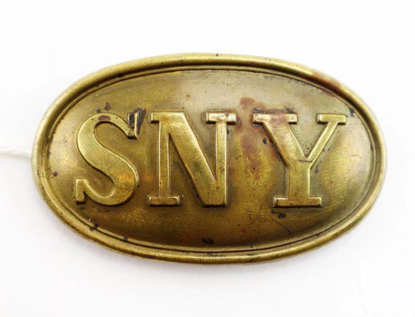 SNY Belt Plate