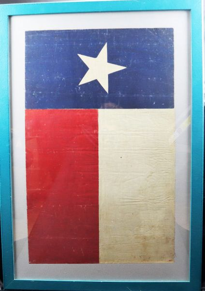 Texas Flag United Confederate Veterans Reunion