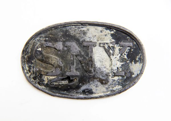 SNY Ship Wreck Buckle