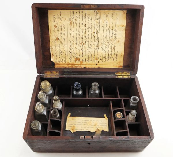 Medical Apothecary Used at Gettysburg / Sold