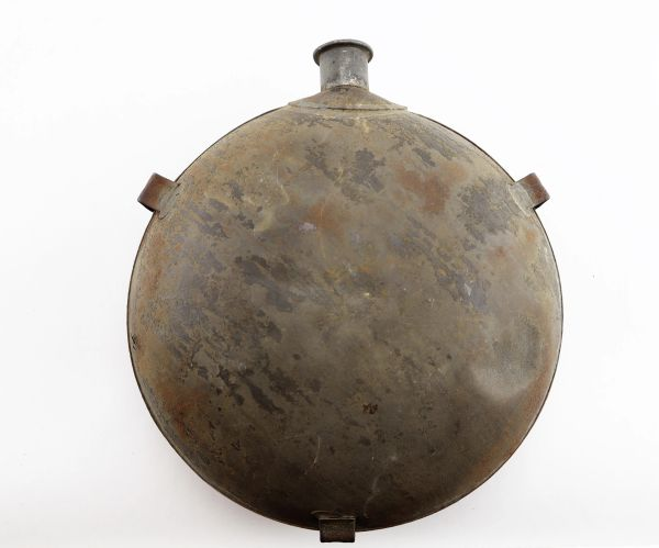 Civil War Canteen with Identification on Spout / Sold