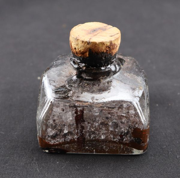 Glass Inkwell / Sold