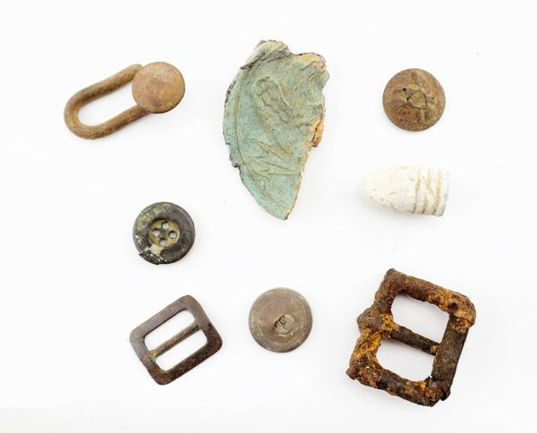 Civil War Relics from Fredericksburg