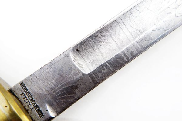 Musician Sword model 1840 - Etched Blade