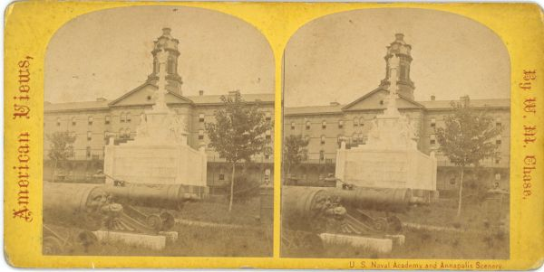 U.S. Naval Academy and Annapolis Scenery Stereoview