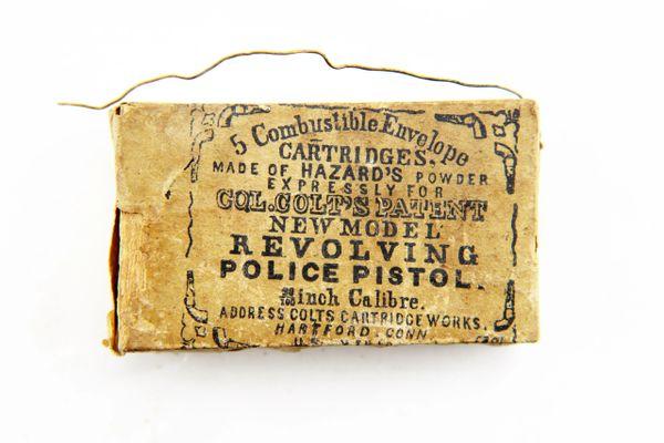 Colt Police Model Cartridges