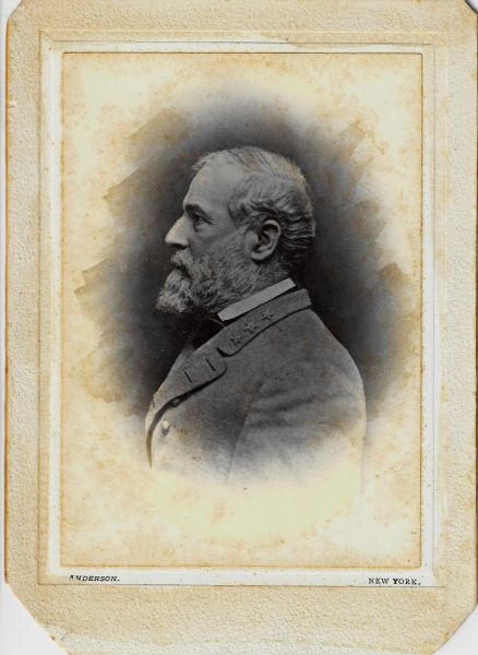 Historic Photograph of Robert E. Lee