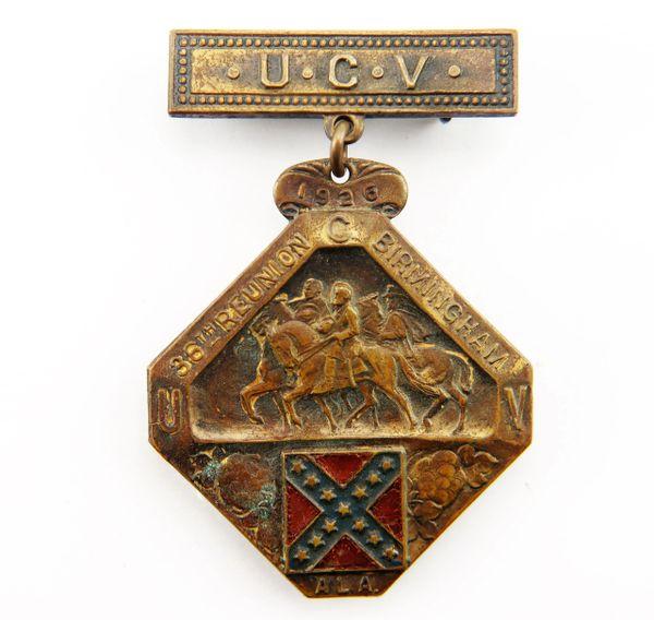 United Confederate Veterans Badge
