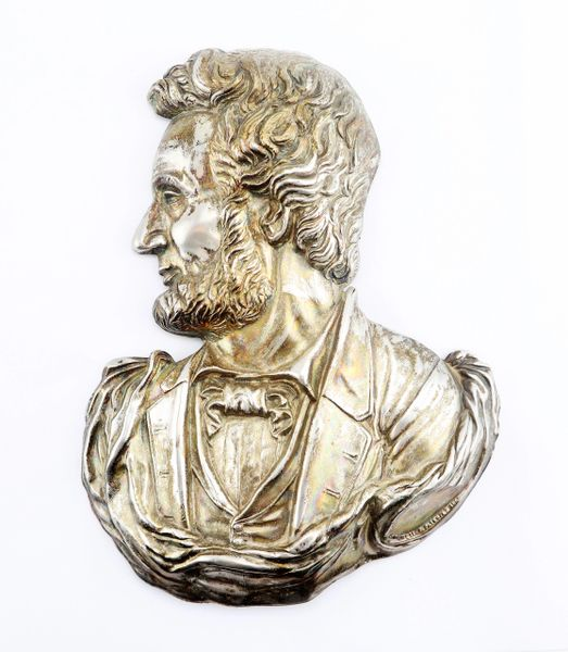 Silver Bust of Abraham Lincoln