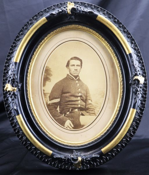 Albumen of an Armed Corporal / Sold