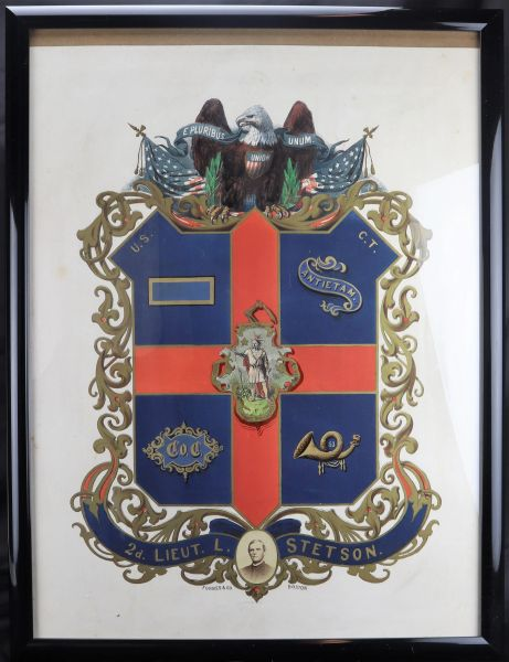 Officer's Escutcheon - United States Colored Troops