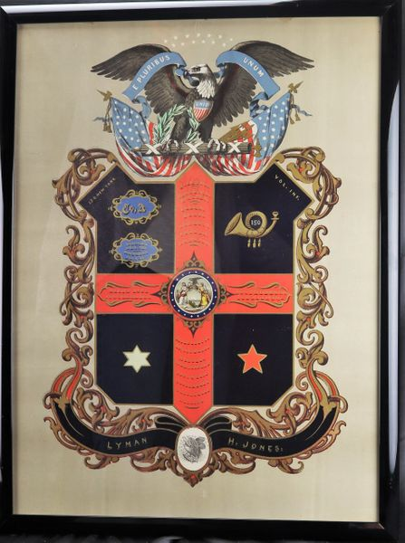 Soldier's Escutcheon - Battle of Gettysburg