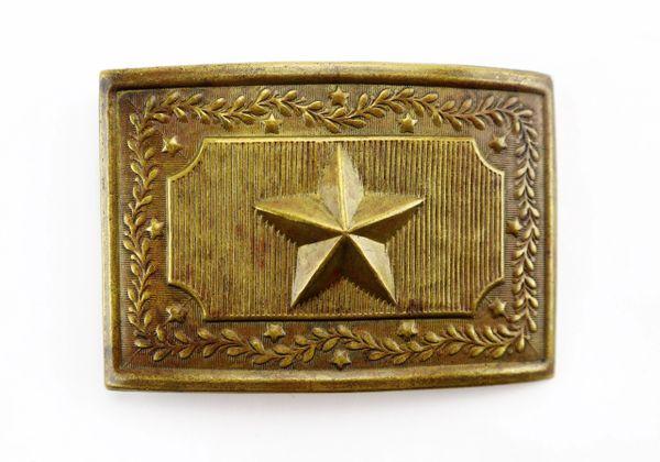 "Militia Panel ""Star"" Plate"