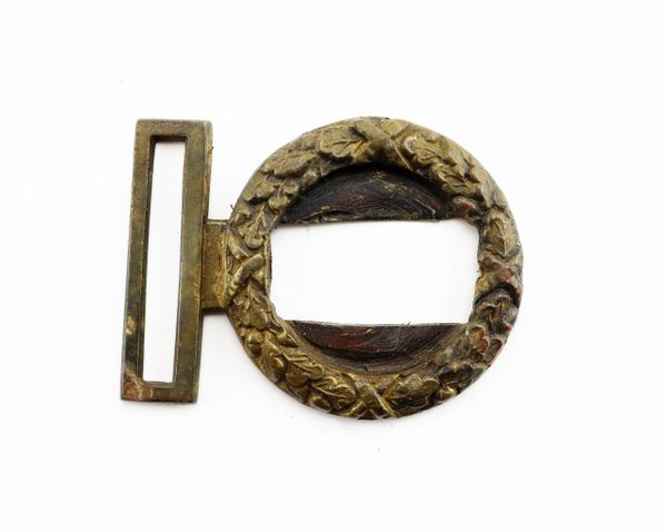 Wreath Device of Confederate Belt Plate