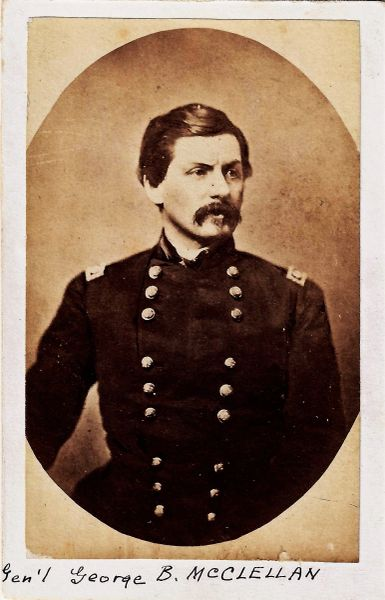 Major General George B. McClellan / Sold