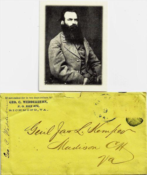 Confederate General James Lawson Kemper / Sold