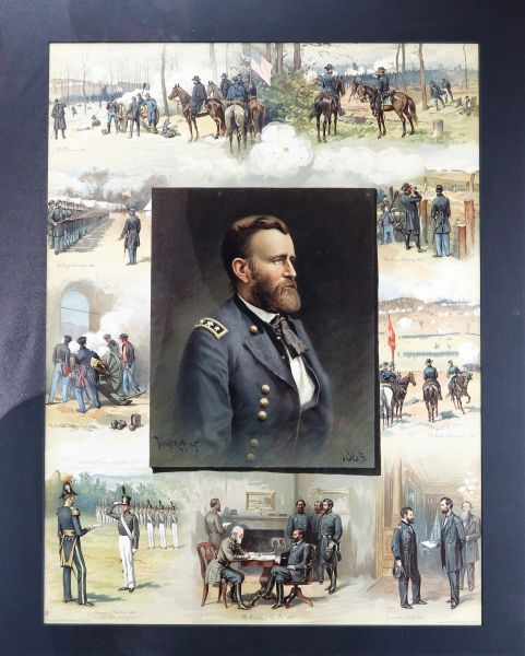 Grant from West point to Appomattox 1885