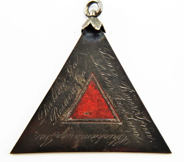 4th Corp Badge - Inscibed