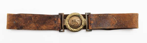 Confederate Belt and Plate / Sold