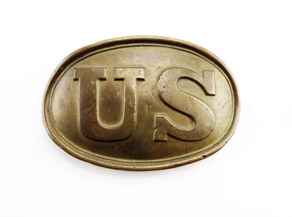 U,S. Belt Plate