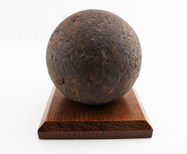 12 Pound Solid Shot Cannonball