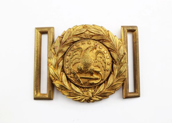 Naval Officer's Belt Plate