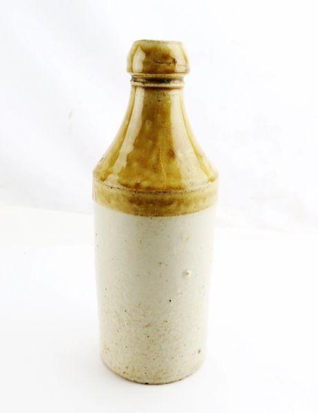 Civil War Era Ceramic Ginger Beer Bottle / Sold