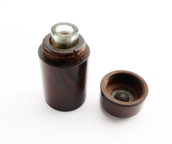 Rosewood Inkwell