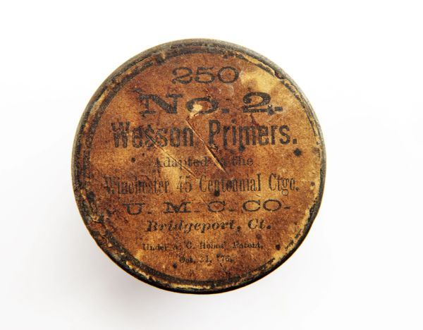 Wesson Primers Percussion Cap Tin / SOLD