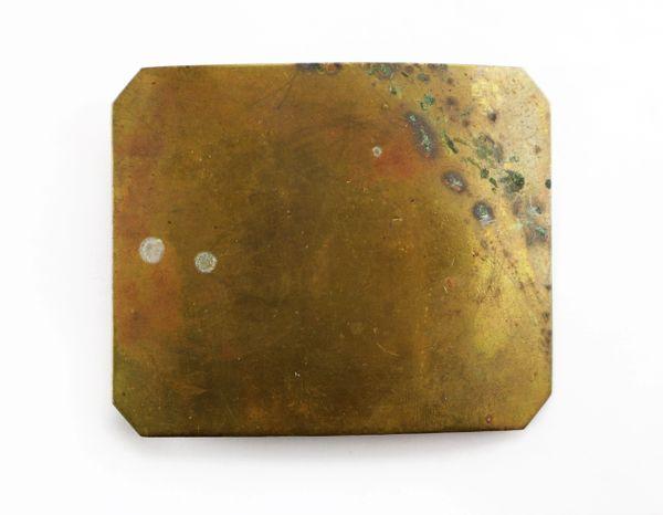 Clipped Corner Militia Plate
