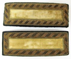 2nd Lieutenant of Cavalry Shoulder Bars
