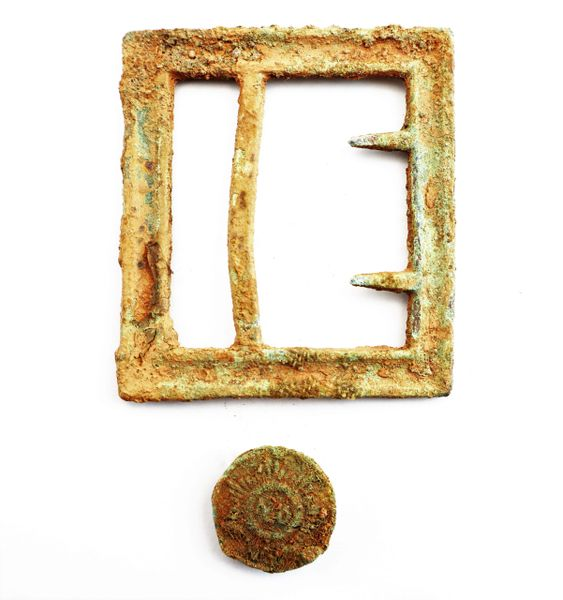 Georgia Frame Buckle and North Carolina Button