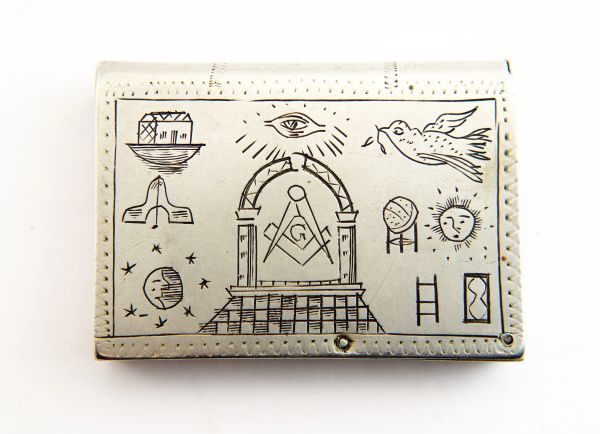 Masonic Match Safe