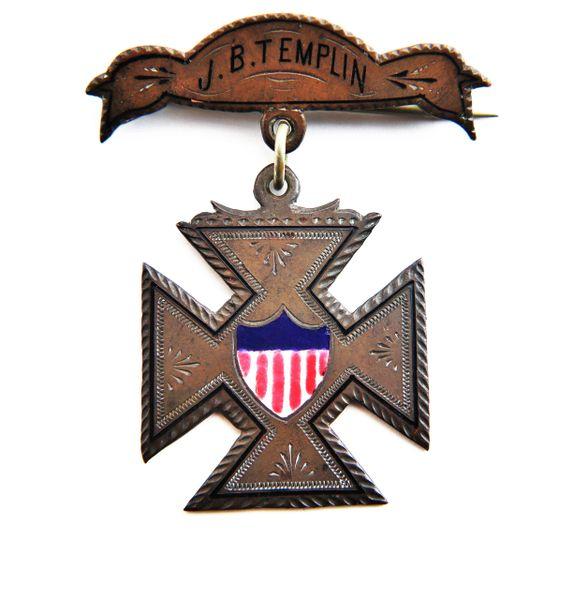 Inscribed Silver Badge