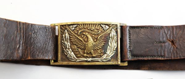 Cavalry Belt with Plate