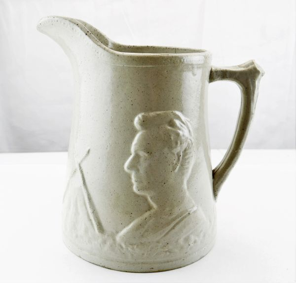 Lincoln with Cabin Pitcher
