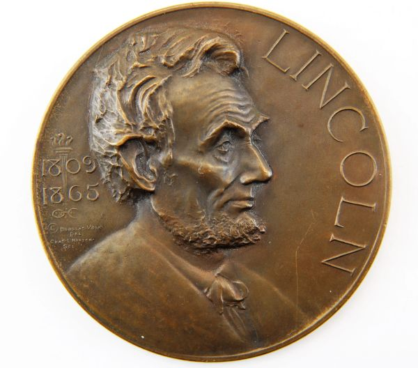 Abraham Lincoln Medallion