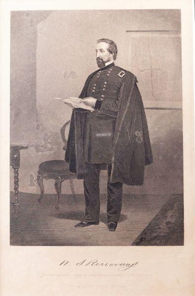 General Rosecrans Engraving