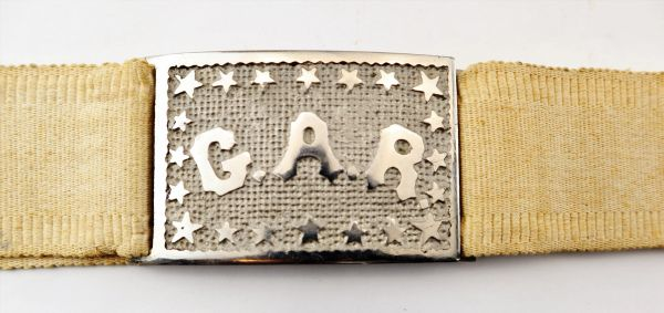 G.A.R. Belt and Plate