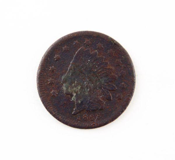 "1863 Indian Head ""1 Cent"" Piece"