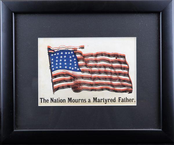 Lincoln Mourning Handbill