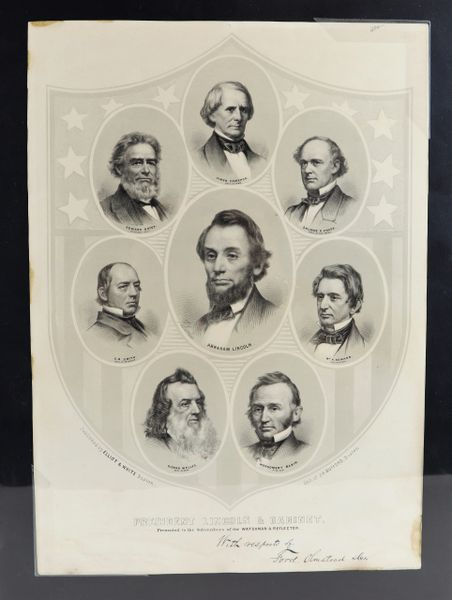 President Lincoln & Cabinet