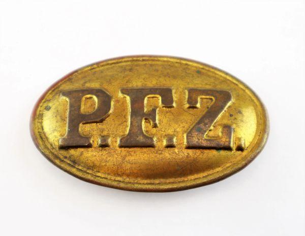Philadelphia Fire Zouaves Box Plate / On-hold